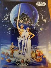 2017 Star Wars 40th Anniversary #109 Star Wars Poster Concept Art Wojtek Siudmak