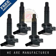 4pcs Ignition Coil for Toyota Corolla Celica Chevy Prizm Pontiac Vibe 1.8L UF247
