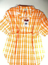 Tennessee Volunteers Plaid Shirt Top UG Apparel Football Womens Size L New