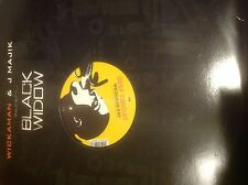 "Wickaman & RV-Anything You Say/Deep Throat 12"" Drum and Bass Vinyl Black Widow"