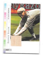 George Sisler 2003 Topps Gallery Game Used Bat #Ar-Gs St. Louis Browns Hof