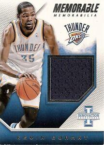 Kevin Durant 2013-14 Innovation Memorable Memorabilia #11 /299 All-Star Jersey !