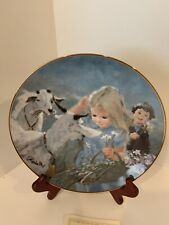 Hamilton Collection The Summer Days of Children Mountain Friends Collector Plate