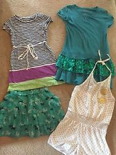 Gap Girls Striped Dress Romper Sequin Horse Skirt Lot Size Med Medium M 8