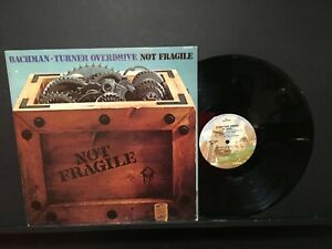 """Bachman-Turner Overdrive 12in Lp """" Not Fragile """""""