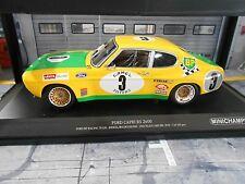 FORD Capri RS 2600 RS2600 MKI 24h Spa 1972 #3 Birrel Bourgoin Minichamps SP 1:18