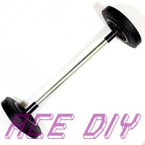 Wheelie Bin Axle & 2 Wheels Set | 240 Litre Wheely Bins Bar Rod Two Wheel Tyres