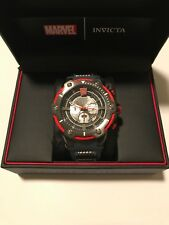 Invicta Men's Marvel Thor 52mm Watch Chronograph Black Red Limited Ed 457/3000