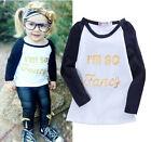 Mode Enfants Bébé Fille So Fantaisie Haut Manches Longues T-shirt Décontracté