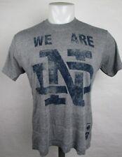 Notre Dame Adidas Distressed Short Sleeve T-Shirt Men's NCAA Gray M L