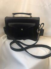 BAIGIO Genuine Leather Men's Cross-body Satchel Messenger Bag Small Business Bag