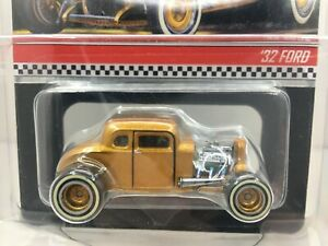 Hot Wheels * RLC * 32 Ford Hot Rod * Gold* Opening Doors***1/17500** 1:64