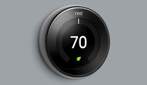 COMPLETE KIT: Google Nest 3rd Generation Learning Thermostat -> Choose Color &