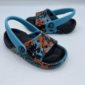 Crocs Kid's Thong Slingback Open Toe Sandals Toddler Baby US 7