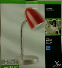 On Sale New Globe Home Desk Lamp Energy Saver avail Red Blue White out of Black