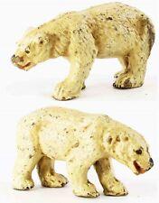 figurine ELASTOLIN OURS BLANC  /  jouet ancien