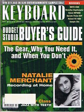 1999 Roland VS-1680, Kawai MP9000, MOTU 2408  KEYBOARD Reviews, Magazine, Record
