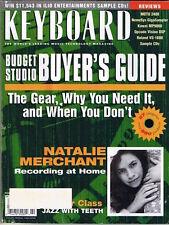1999 Roland VS-1680, Kawai MP9000, MOTU 2408  KEYBOARD Reviews, Magazine, Record