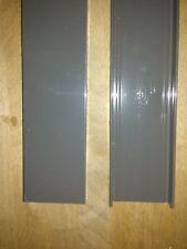 4 Stück  Aluminium U- Profile Länge 1000 mm