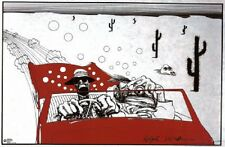"""FEAR AND LOATHING POSTER """"RALPH STEADMAN"""" LICENSE """"BRAND NEW"""" LARGE"""