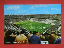 MILANO Stadio SAN SIRO calcio Football partita vecchia cartolina *
