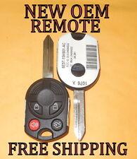 NEW OEM FORD 40 BIT KEYLESS ENTRY REMOTE HEAD MASTER KEY FOB COMBO 164-R7013