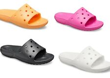 Unisex CROCS Classic Slides Sandals Vegan 7 colors