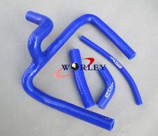 For Honda CR250 CR250R 2002-2008 03 04 05 06 07 08 Silicone Radiator Hose BLUE