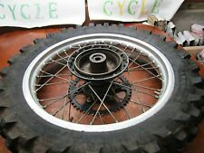 CR 250 HONDA 1984 CR 250R 1984 REAR WHEEL