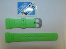 Cinturino Casio Originale Gomma Caucciù Verde Ansa 22 Mm. Modello DBC-32 DBC-32B