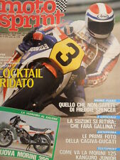 Motosprint 37 1983 Tutto su Freddie Spencer - Test Morini 125 Kanguro  [SC.31]
