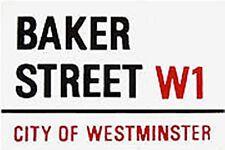 Baker Street London street sign enamel fridge magnet (gg)