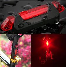 USB Rechargeable Flashing Bicycle Rear Aero LED Light,50 Lumens, Waterproof