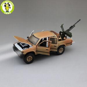 1/32 Toyota Hilux Pickup Truck Jackiekim Diecast Car Model Toys Kids Gifts Sound