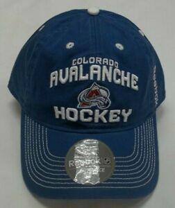 Reebok Colorado Avalanche Slouch Adjustable Hat - One Size EU96Z - New