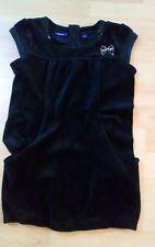 Mexx TUNIKA Kleid Kurz Schwarz Mädchen 👧🏻 Gr 122/128 samt edel