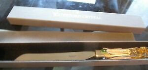 Waterford Lismore Bridal knife  Lead  Crystal  New In box