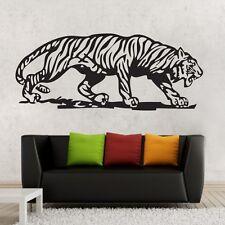One Large Tiger Wall Decor Removable Vinyl Decal Kids boy Sticker Art DIY Mural