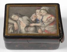 "Carl Gustav Klingsted ""Cherchez la petite souris"" box with fine miniature"