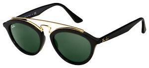 Ray-Ban GATSBY II Sunglasses RB 4257 601/71 50 Black Frame | Green Lens