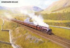 "Hornby Dublo in Railway Art ""Homeward Bound"" No. 22 Signed & Numbered."