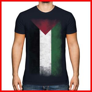 PALESTINE FADED FLAG MENS T-SHIRT TEE TOP FILAST?N PALESTINIAN GIFT SHIRT