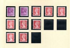 SPECIALISED COLLECTION OF UNMOUNTED MINT 25p MACHINS
