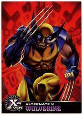 Wolverine #19 Of 20 X-Men Alternate X Fleer Ultra 1995 Chase Card (C1401)