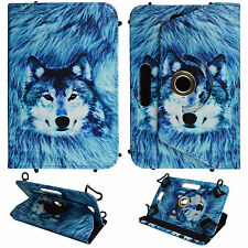 WOLF FOR UNIVERSAL 6 INCH FOLIO CASE STAND TABLET COVER