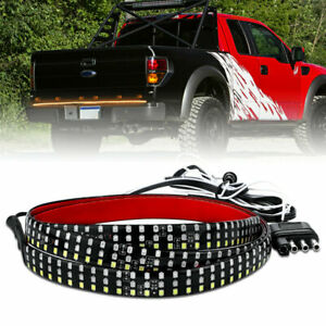 "48"" 6 Modes 432 LED Car Truck Tailgate Light Bar Reverse Brake Signal Tail Lamp"