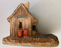 Lilliput Lane Wallace Station American Collection Handmade UK Miniature Rare