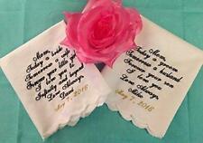Mother of The Bride, Mother of The Groom Wedding Handkerchief Set by Wedding Tok