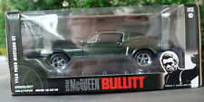 1968 Ford Mustang GT 2+2 Fastback Bullitt Steve McQueen 1:24 Green Light 84041
