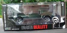 1968 Ford Mustang GT 2 + 2 fastback Bullitt Steve McQueen 1:24 Greenlight 84041